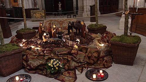 St Germain l'Auxerois - La crèche
