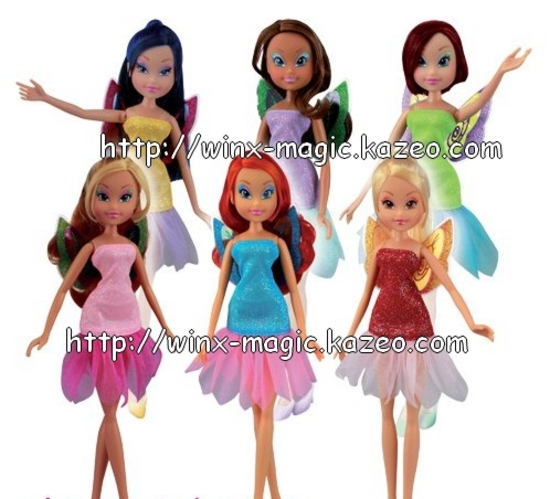 Poupées Winx Fairies