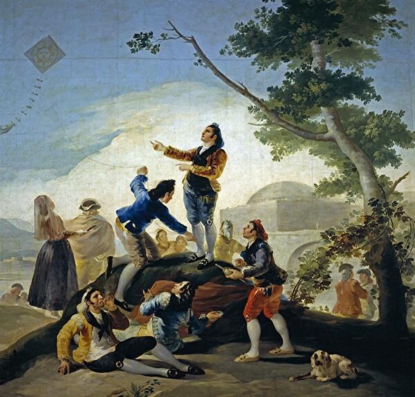 Goya /1/  Les cartons de tapisseries (1)