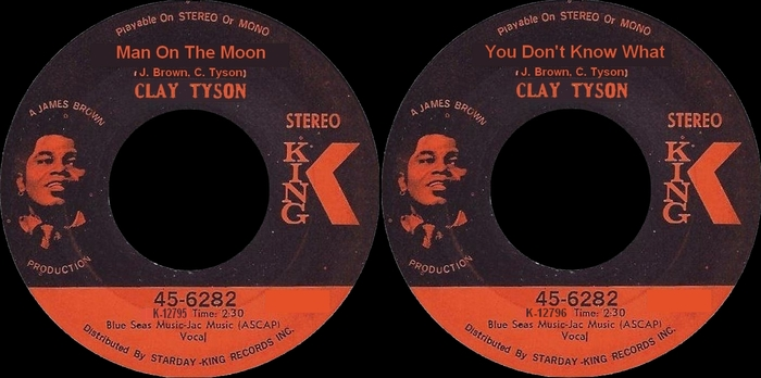 Clay Tyson : Single SP King Records 45-6282 [ US ] Not Issued