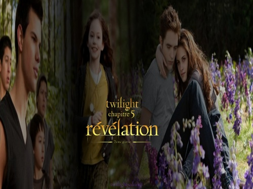 "fond d'écran twilight 5 ""mes créas"""