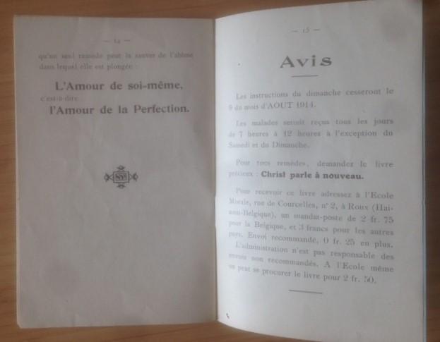 Publication d'une Lettre adressée au Père Dor