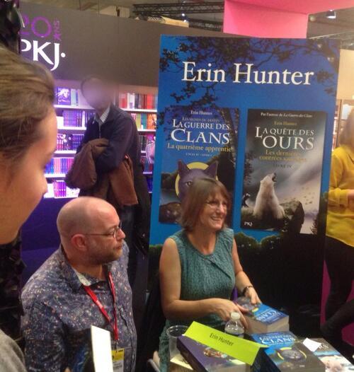 Rencontre avec Erin Hunter !