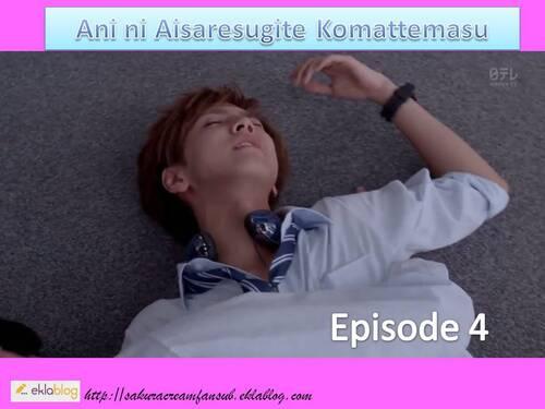 Sortie de l'épisode 4 de Ani ni Aisaresugite Komattemasu