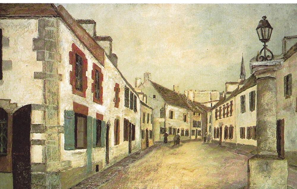 Ouessant-le Conquet 3  /  1912 : la visite de Maurice Utrillo