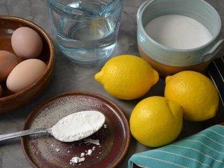 Ingrédients pour la crème au citron / I.G.