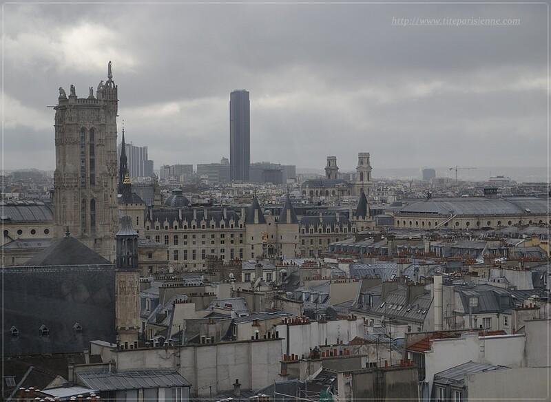 Centre Georges Pompidou : Paris vu d'en haut !
