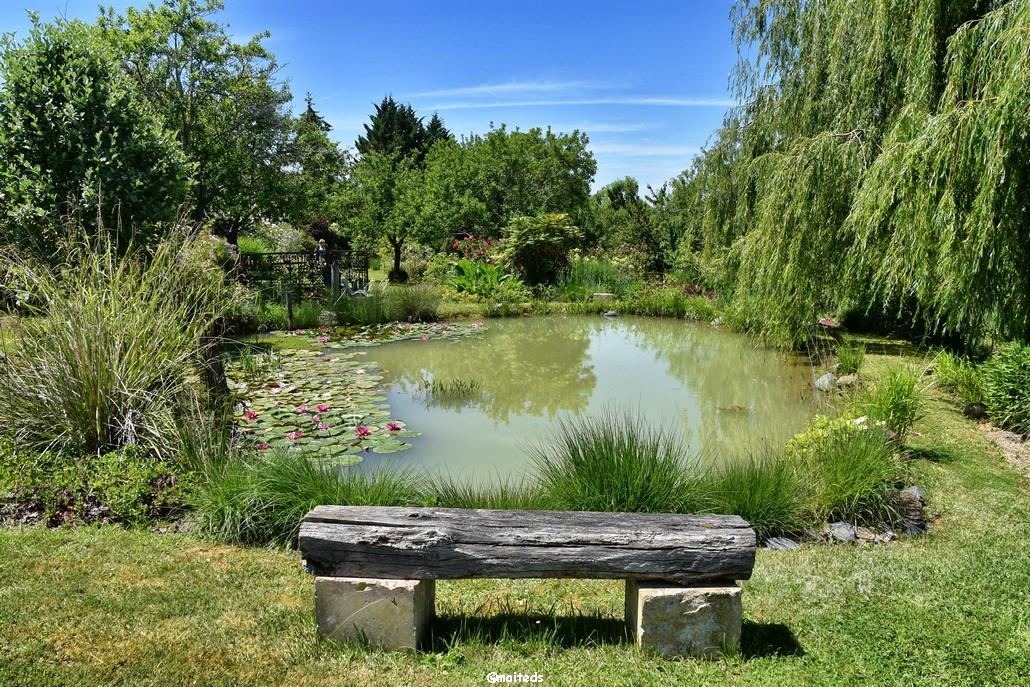 Le jardin d'Entêoulet - Lasseube-Propre - Gers
