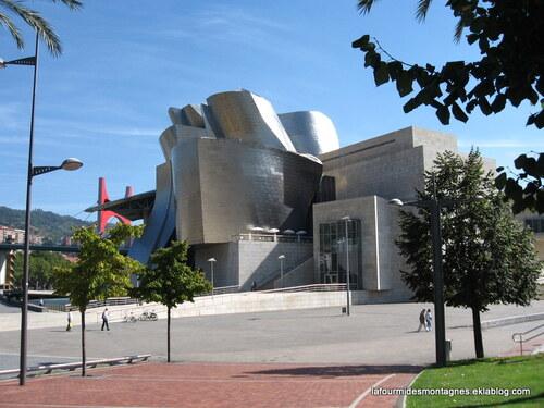 Guggenheim à Bilbao