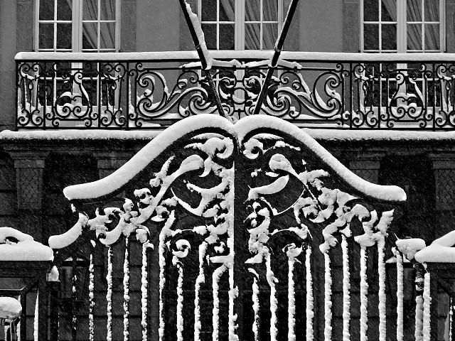 Metz sous la neige 10 Marc de Metz 2011