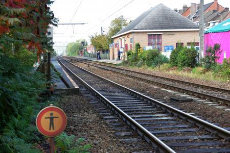 * Herseaux - La gare