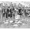 Cérémonie de piquage du sol français junte de Roncal du 13 juillet 1906