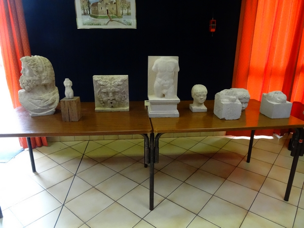 Une belle exposition et un vide-grenier ont eu lieu le 13 août à Minot