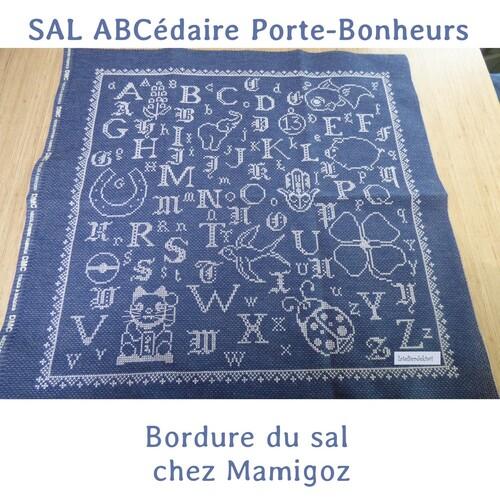 """SAL ABCédaire Porte-bonheurs """"Bordure"""""""