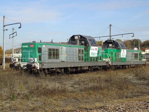 DE 18 CFL CARGO à Blainvilles