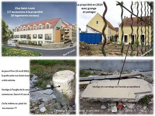 Points sur les chantiers dans le centre historique de JP
