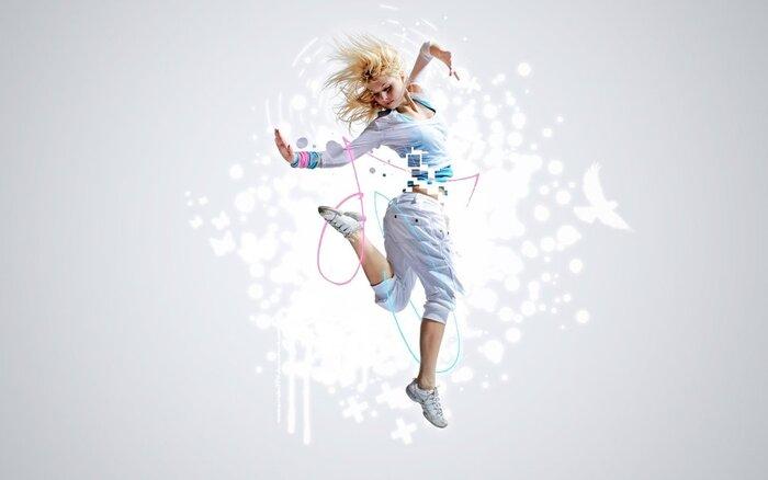 Rock, ce qui vous a obtenu, Dancing gratuite!! Wallpaper