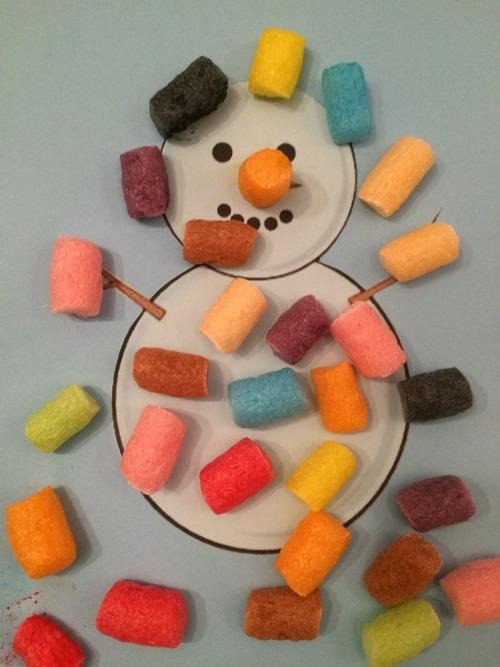 Bonhomme de neige - Playmais