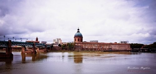Toulouse, Depuis la place St Pierre | Photographies