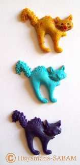 miniatures Chat Gros Dos - Arts et Sculpture: sculpteur contemporain