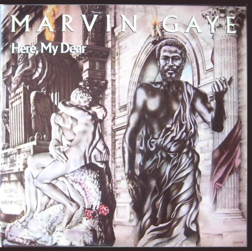 "Marvin Gaye : Album "" Here , My Dear "" Tamla Records T 364LP2 [ US ]"