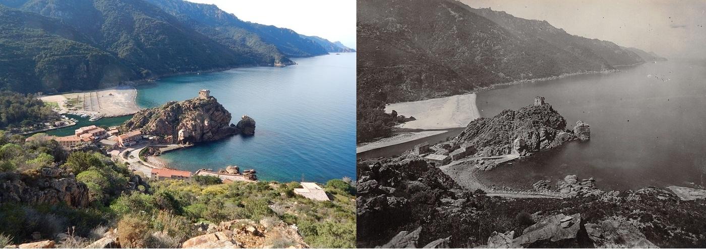 Golfe de Porto. Photographies et événements du XIXème et XXème siècle.