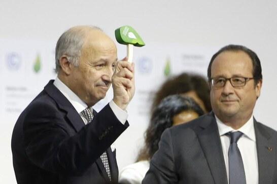 Laurent Fabius, grand artisan de la Cop 21 à Paris, va être proposé par François Hollande comme président du Conseil constitutionnel. Photo AFP