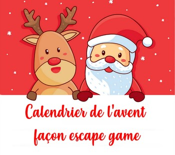 Calendrier de l'avent façon escape game (cycle 3)