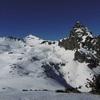 De la crête (2340 m), le Vértice et le pico de Anayet
