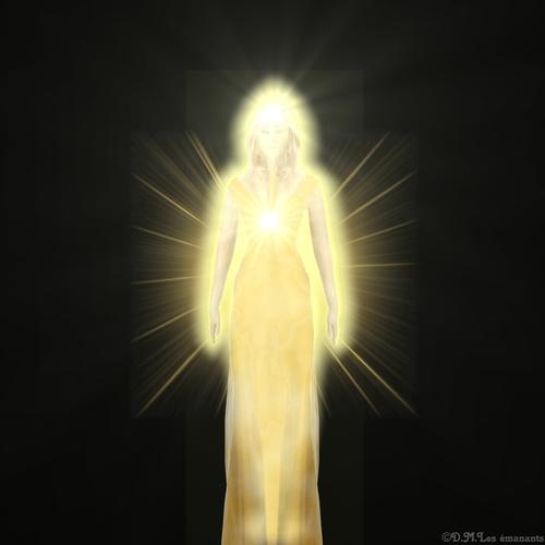 Rencontre avec les êtres de lumière