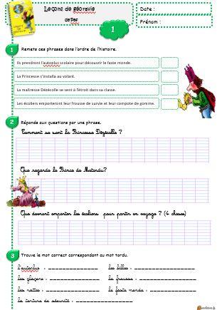 Bekannt Lecture CE1 Leçon de géoravie - Le petit cartable de Sanleane SE57