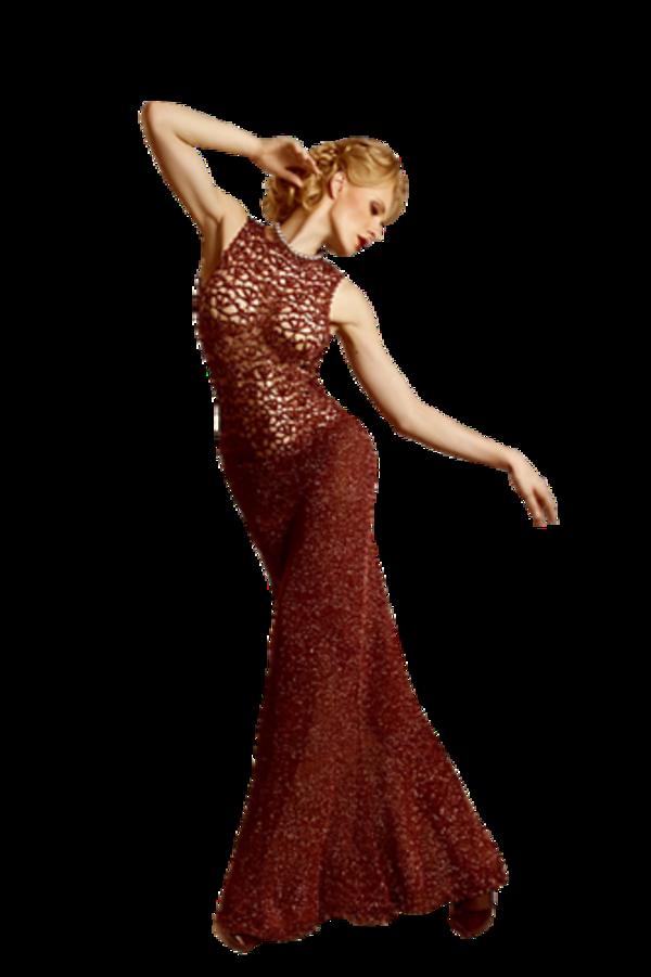 Femme vétue de rouge 2
