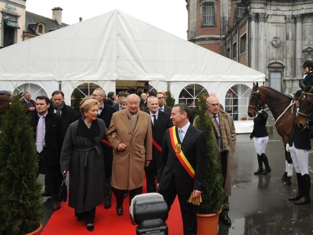 Paola et Albert à Namur