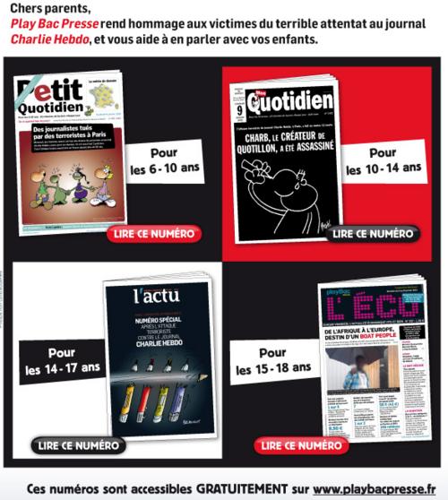 Charlie Hebdo: pour en parler