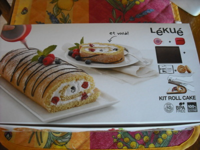 Blog de chacha : Les desserts de Chacha, Biscuit roulé (1er test)
