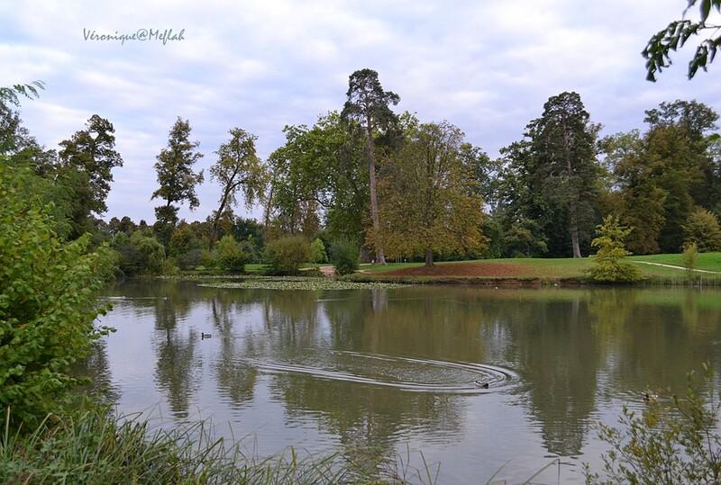 Versailles : Le Domaine de Marie-Antoinette : Le Grand lac et les rivières