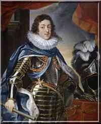 La Rochelle le siège portrait de Louis XIII
