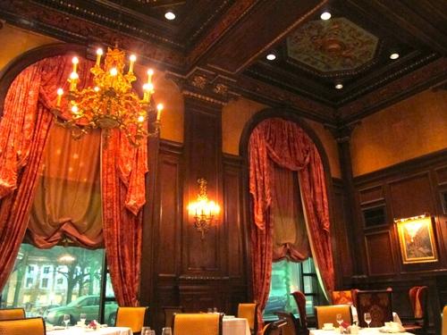 Un repas dans un palace