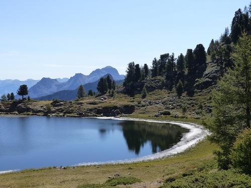 Les lacs du col bas (St Jean-Montclar)