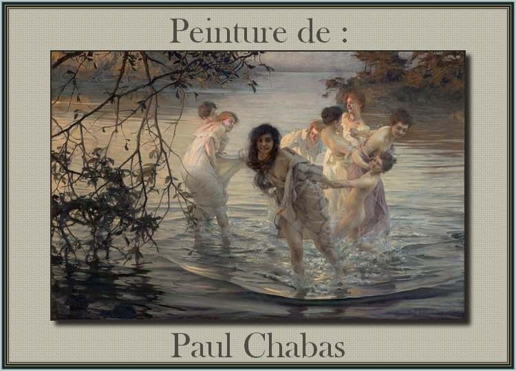 Peinture de : Paul Chabas