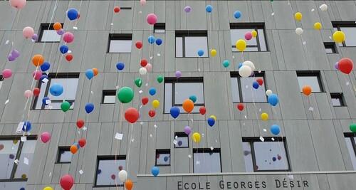 """Inauguration des écoles """"Georges Désir"""" et """"La Charmille"""""""