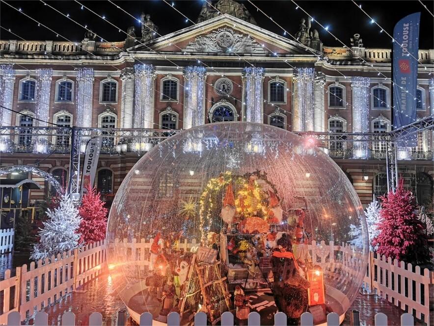 Le coup d'envoi des festivités de Noël a été donné mardi 1er décembre 2020.