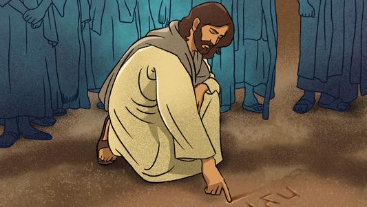 성경삽화 사진, 이미지, 일러스트, 캘리그라피 - 크라우드픽