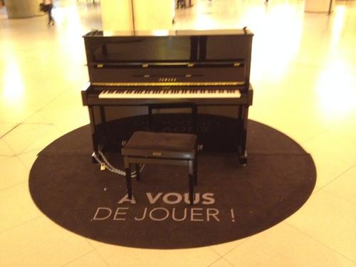 A vous de jouer ! Des pianos dans les gares...