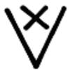 Symbole Aumentation en Maille Serrée