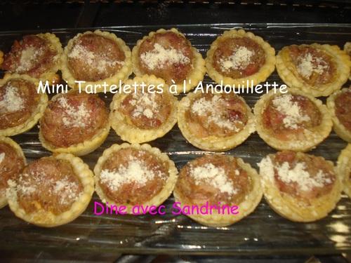 Des Mini Tartelettes à l'Andouillette