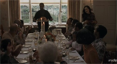 American gangster - Thankgiving scene