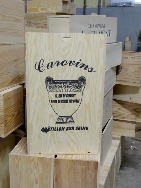"""""""La Belle Boîte""""  fabricant de coffrets vinicoles et de présentoirs à Châtillon sur Seine nous a ouvert ses portes..."""