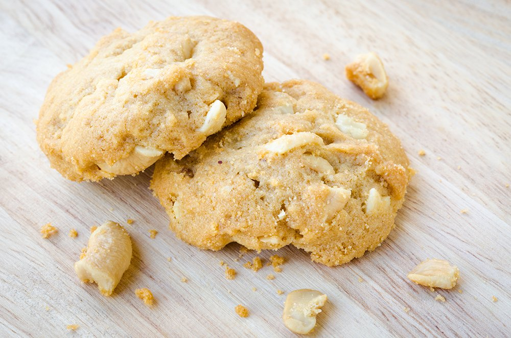Cookies au chocolat blanc et miso
