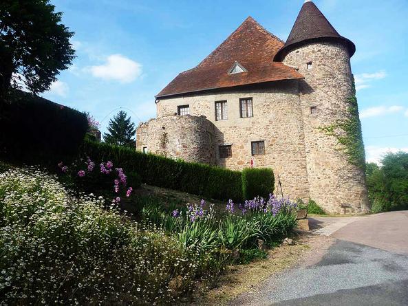 Vézelay - Le Puy en Velay - Arfeuilles - Andélaroche - Arfeuilles